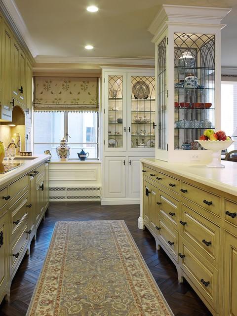 田园风格小户型厨房设计图