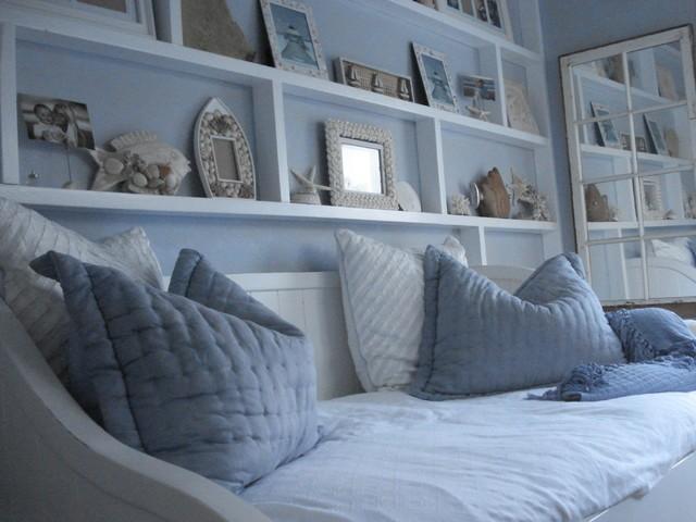 歐式風格臥室床頭背景墻設計