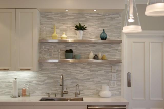 日式設計廚房置物架設計