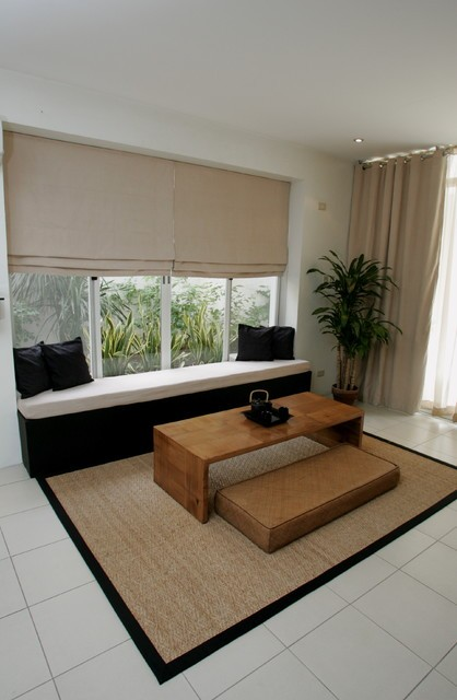 日式風格客廳榻榻米設計