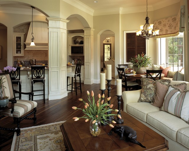 装修百科 装修效果图 装修美图 古典欧式别墅室内拱形隔断设计 古典