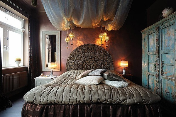 古典美式公寓室內裝飾設計