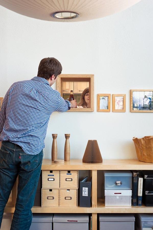 装修百科 装修效果图 装修美图 北欧家居创意小窗口设计 北欧家居创意图片