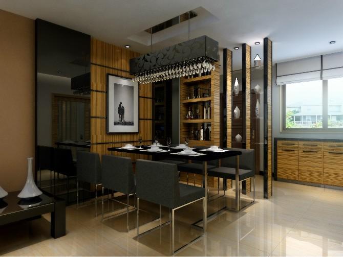 古典现代二居室内装饰设计