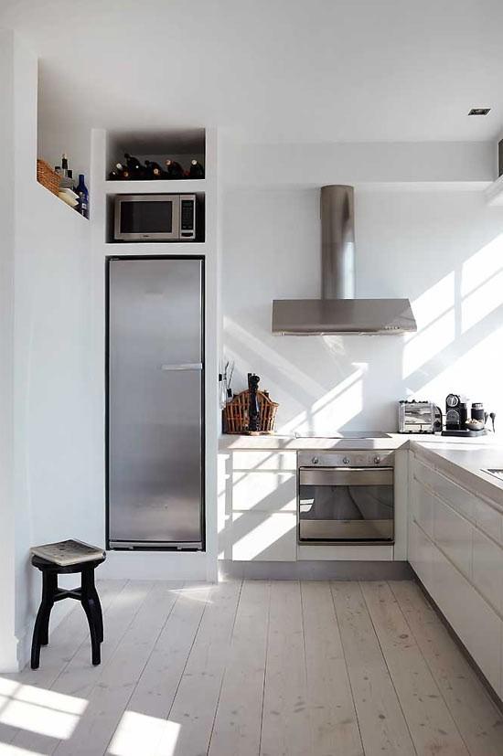 簡歐小戶型廚房樣板間設計
