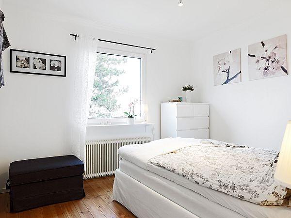 北欧风格50平单身公寓效果图
