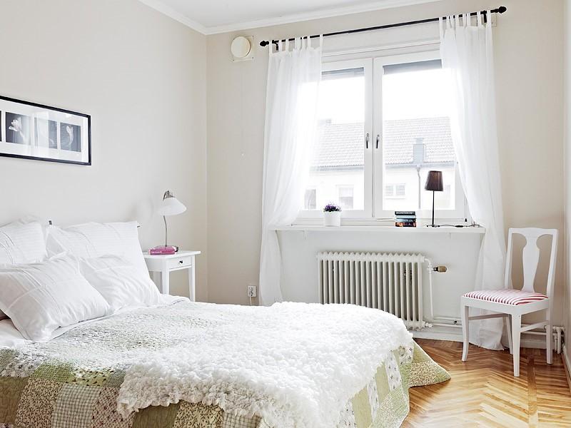 简洁北欧卧室装饰效果图