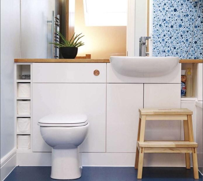 簡約衛生間馬賽克瓷磚裝飾