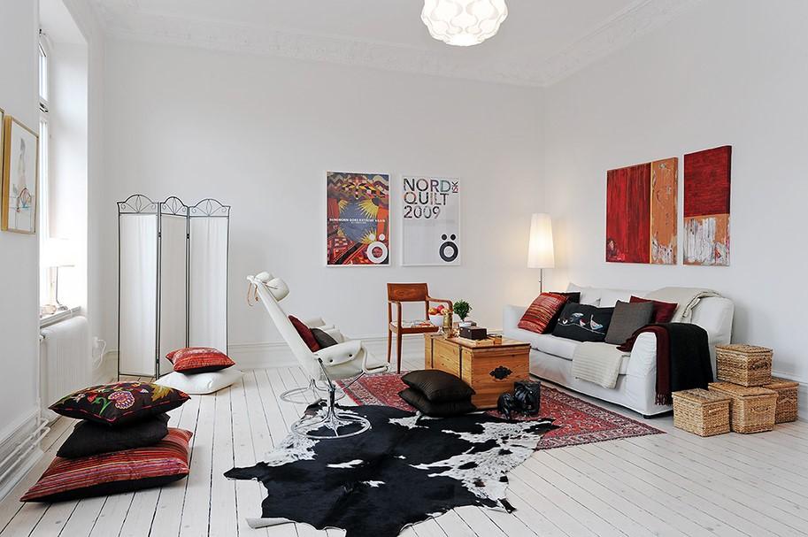 2017清新文艺北欧风小公寓设计