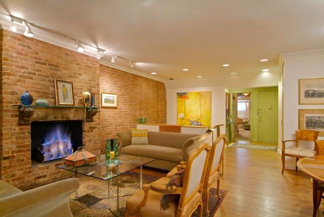 唯美简约公寓客厅装饰欣赏