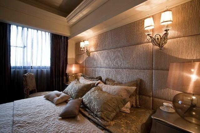 欧式风格卧室壁灯装饰设计_装修百科