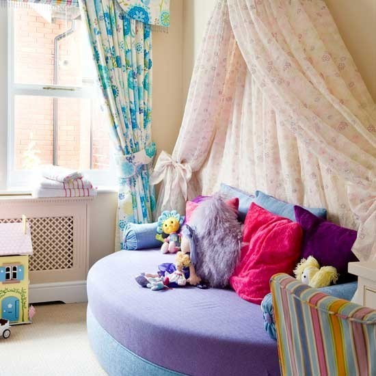 家有寶貝 4款甜美兒童房效果圖