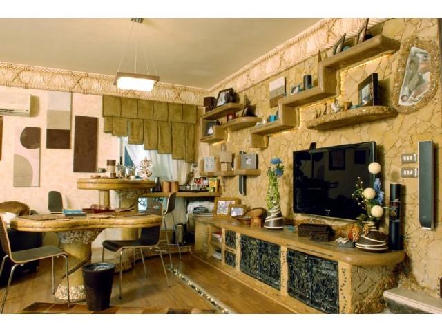 原始复古东南亚风情 小户型家居设计