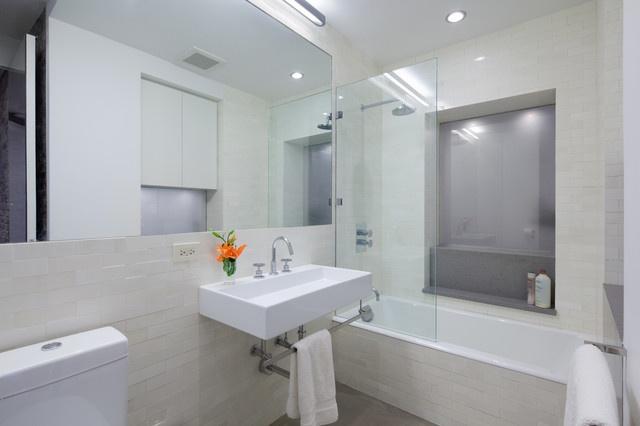 白色簡約衛生間室內設計
