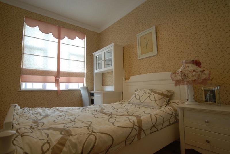 简约田园卧室壁纸装饰设计