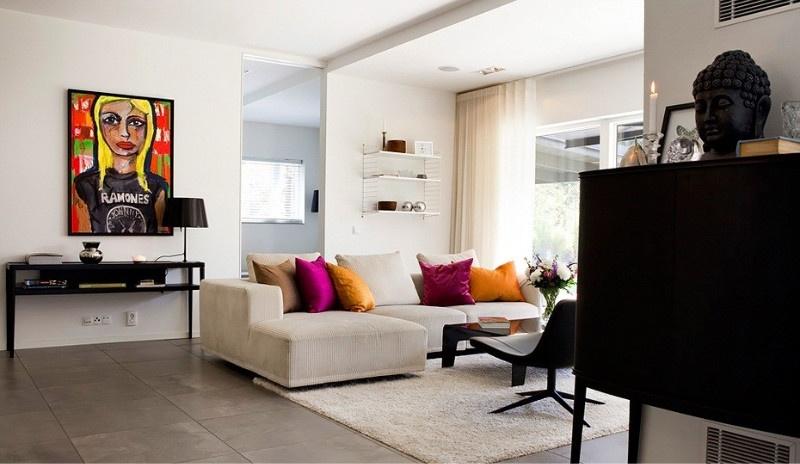 多元素混搭风公寓案例欣赏
