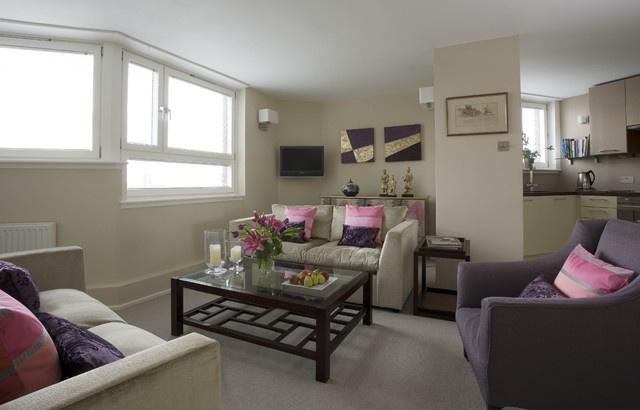 舒適簡中式小公寓效果圖