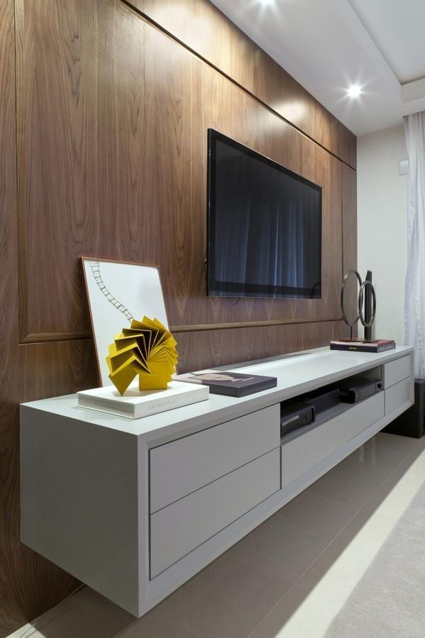 装修百科 装修效果图 装修美图 实木现代家居电视背景墙设计 实木现代