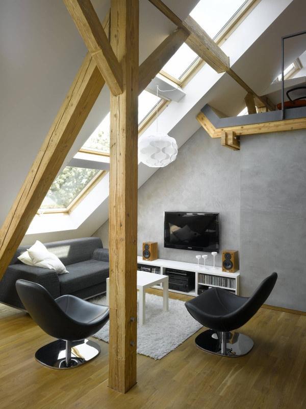 極簡宜家風小復式公寓設計