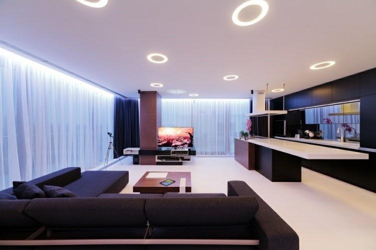 时尚现代风公寓 打造整洁空间感家居