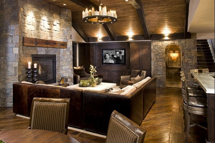 复古美式工业风 度假别墅设计