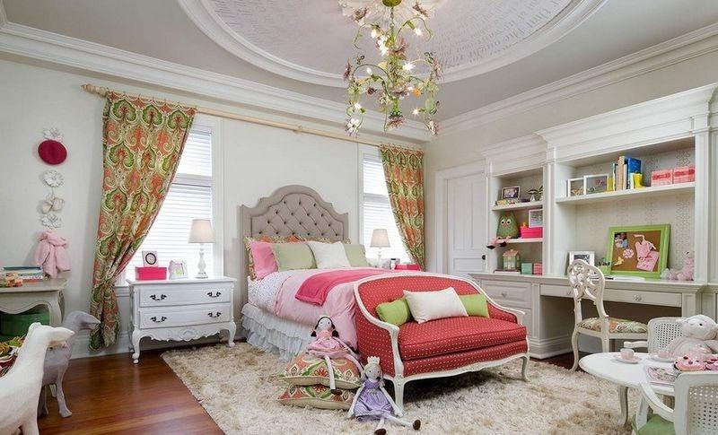 缤纷色彩打造梦幻公主儿童房
