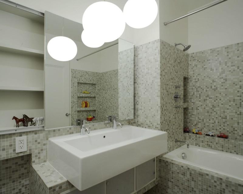 簡潔北歐衛生間洗手盆裝飾