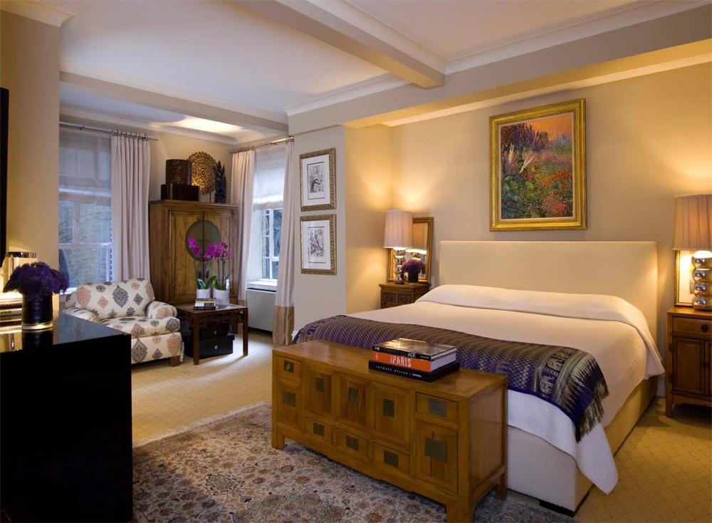 经典美式风格主卧室装修效果图大全