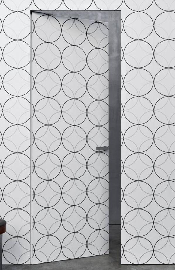 隱形門裝修設計欣賞圖