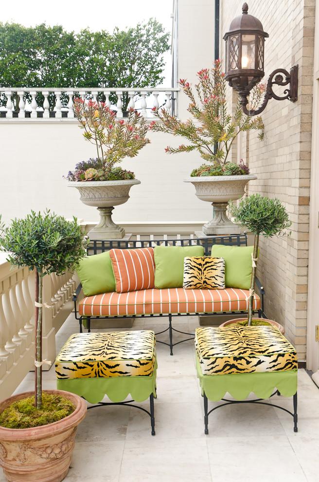 阳台设计 露天阳台设计效果图