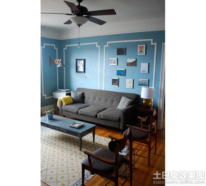 客厅吊扇灯图片