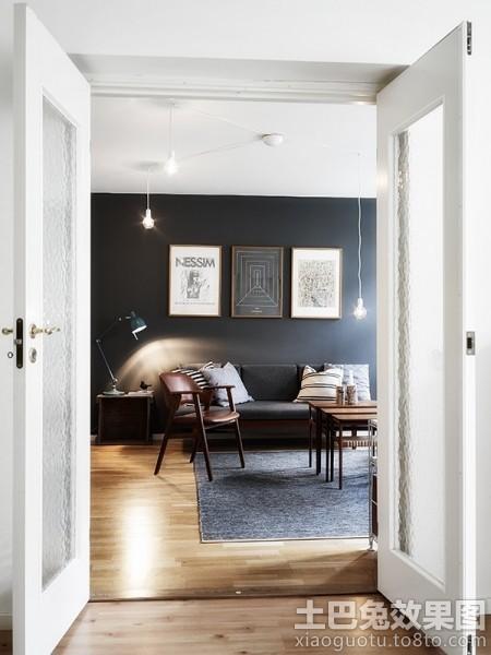 客厅海藻泥墙面漆效果图