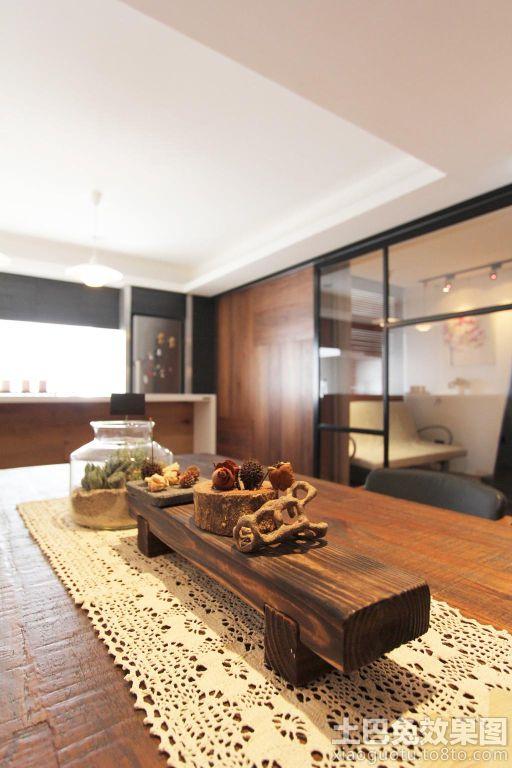 东南亚风格100平米房屋装修效果图