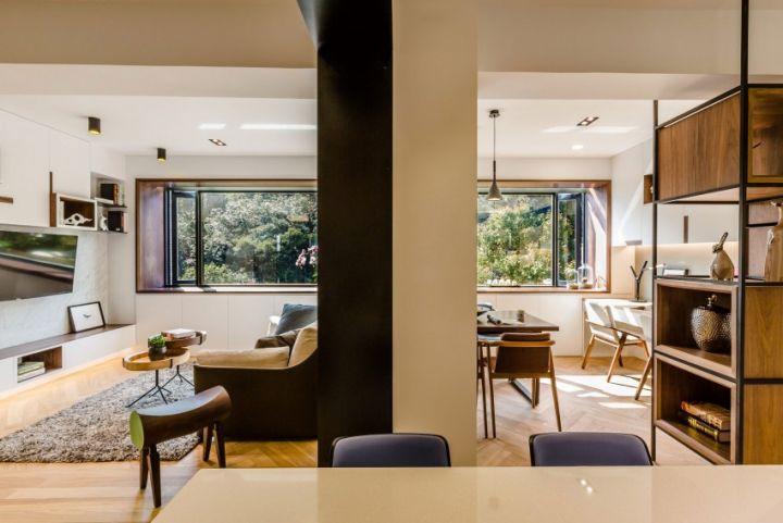 休闲美式风格打造三居美宅