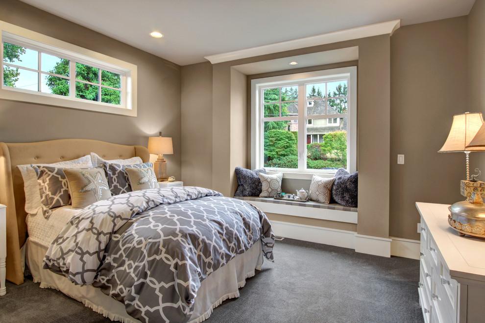 時尚現代臥室裝潢設計