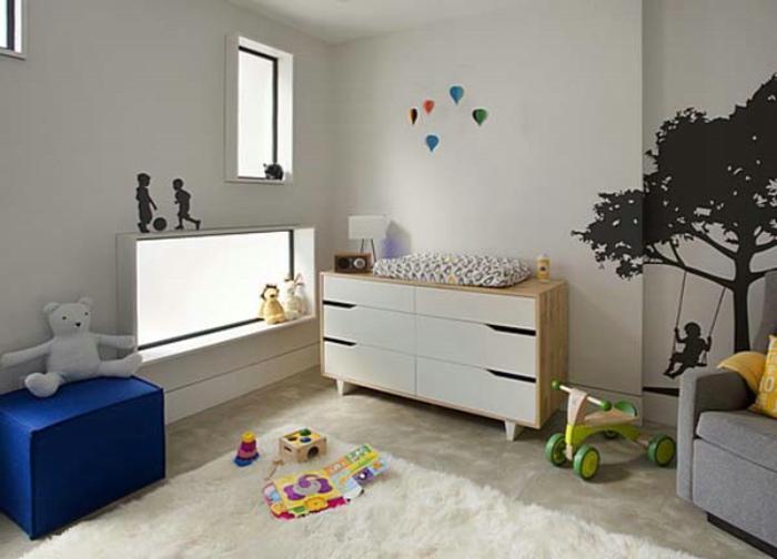 现代家装儿童房窗户设计图_装修百科