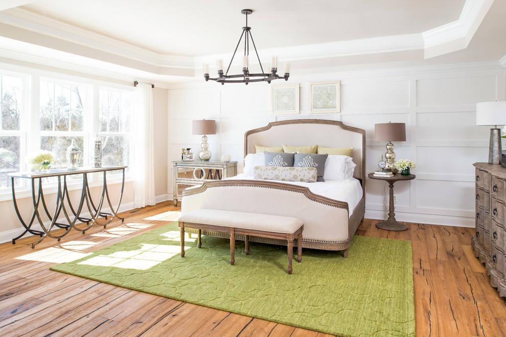 古典歐式風格臥室效果圖