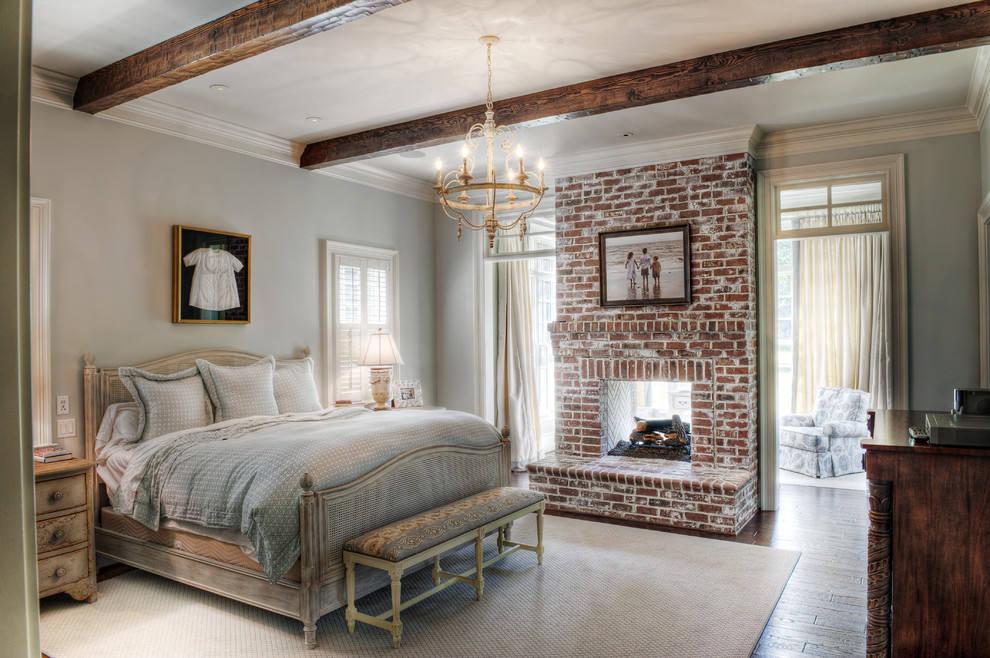 装修百科 装修效果图 装修美图 北欧工业风 卧室红砖背景墙设计 北欧