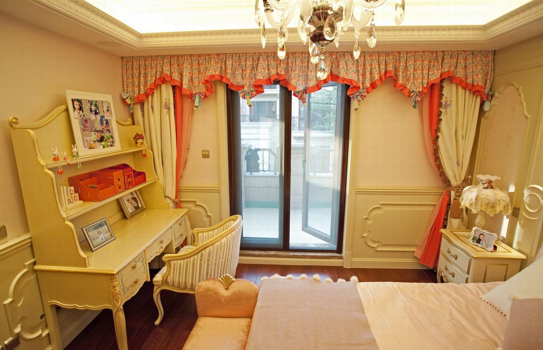臥室風格臥室窗簾裝飾圖