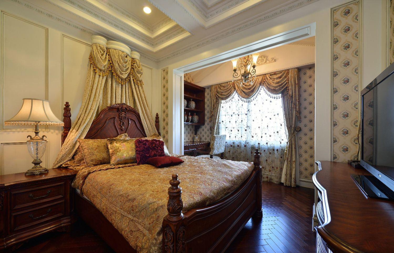 古典奢华欧式卧室垭口设计