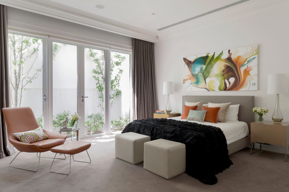 时尚家庭装修窗帘装饰效果图