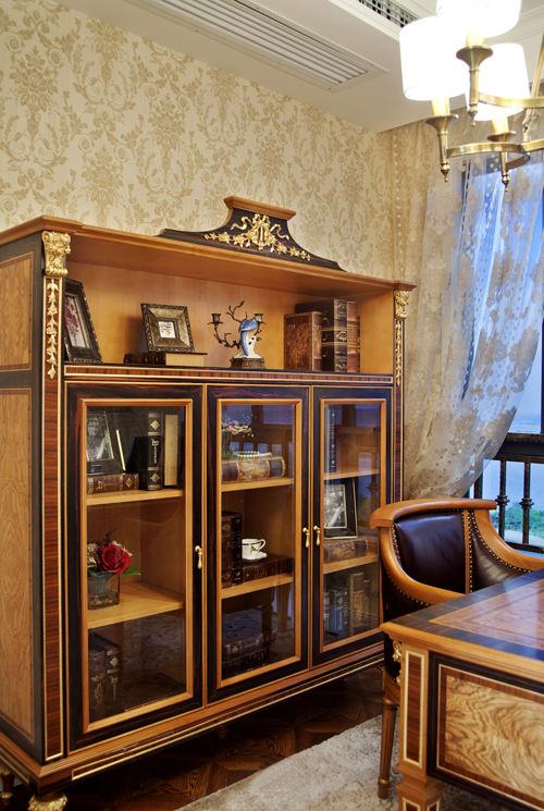 古典歐式風書房柜子設計