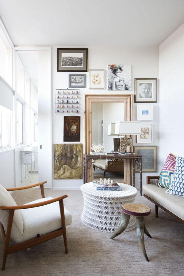 艺术北欧风格公寓客厅效果图