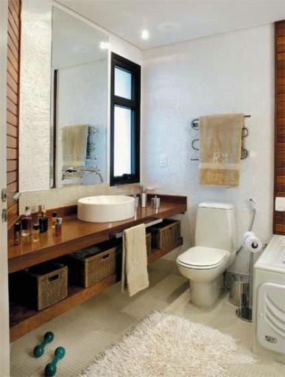 时尚家庭室内卫生间装修设计