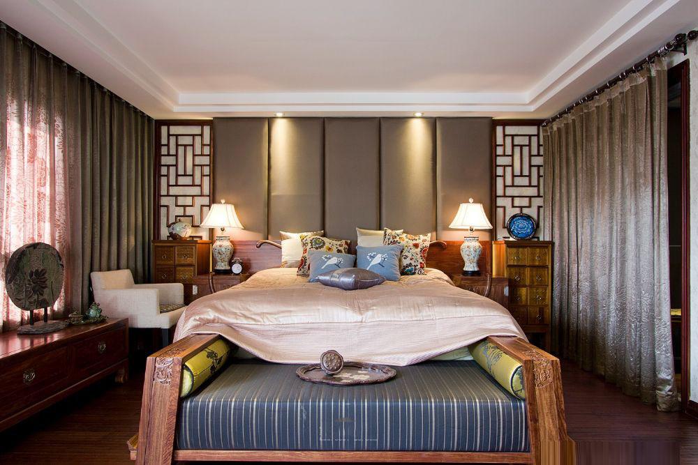 豪华东南亚风格卧室装修图