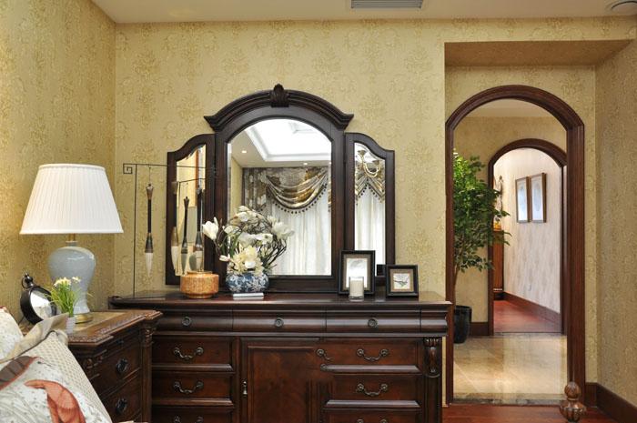 古典欧式风格 卧室梳妆台设计