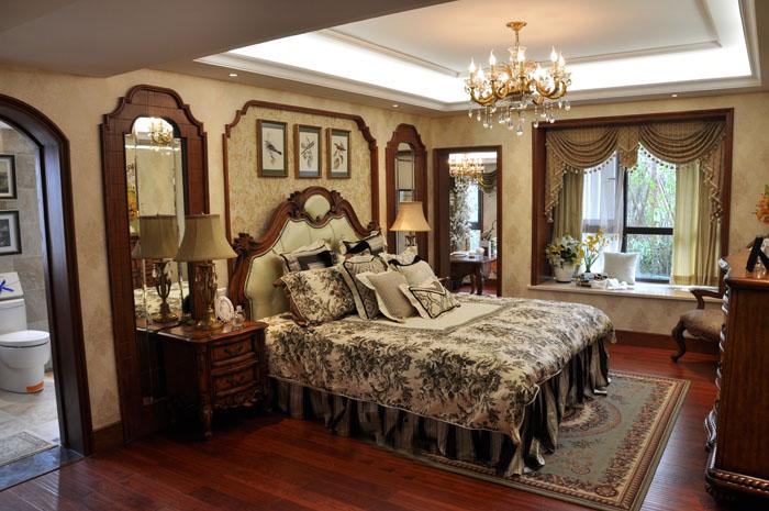 豪华欧式风格卧室装修欣赏