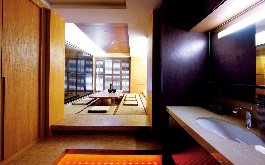 现代日式风 公寓室内榻榻米设计_装修百科