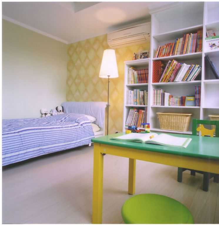 自然田園風兒童房裝修設計