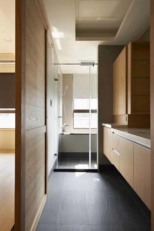 日式風格家居衛生間設計